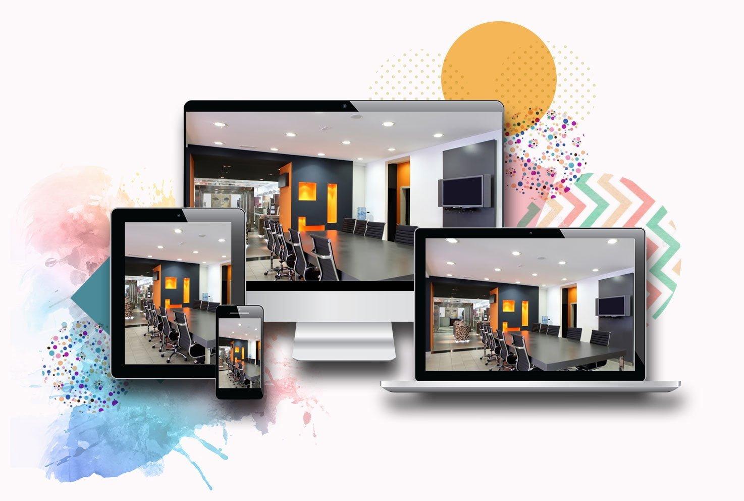 website profissional para negócios