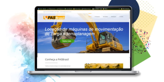 Website Pas Brasil Portfólio
